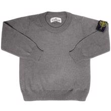 Stone Island Junior Knit Wool Grey