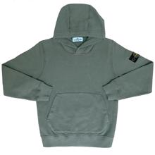 Stone Island Junior Hoodie Dusty Green
