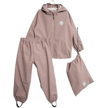 Wheat Charlie Rainwear Jacket and Pants Dark Powder