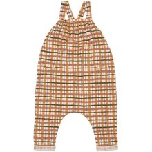 Soft Gallery Winter Wheat AOP Check Fanette Dungarees