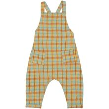 Soft Gallery Narcissus AOP Check Fanette Dungarees