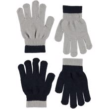 Molo Kello Gloves Grey Melange