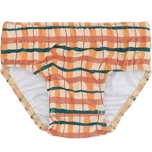 Soft Gallery Winter Wheat AOP Check Baby Miki Swim Pants