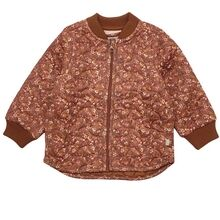 Wheat Thermo Nutella Flowers Jacket Loui