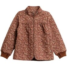 Wheat Thermo Nutella Flowers Jacket Thilde