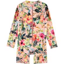 Molo Hawaiian Flowers Neka L/S UV Swimsuit