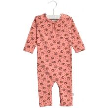 Wheat Soft Rouge Animals Gatherings Jumpsuit