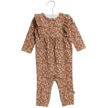 Wheat Caramel Flowers Kira Jumpsuit