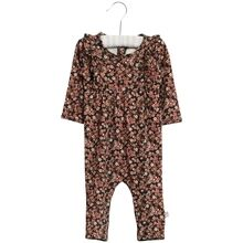 Wheat Midnight Blue Flowers Kira Jumpsuit