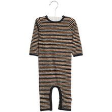 Wheat Midnight Blue Stripe Theis Jumpsuit