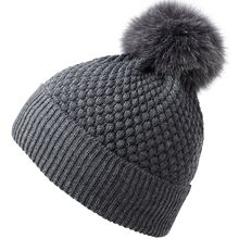 MP 96225 Dark Grey Beanie Fur