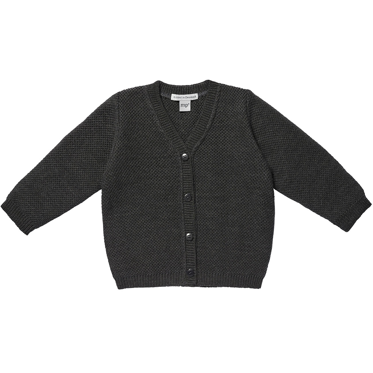 MP Dark Grey Melange Texas Cardigan