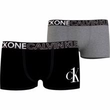 Calvin Klein Boxershorts 2-pak Black/Grey Heather