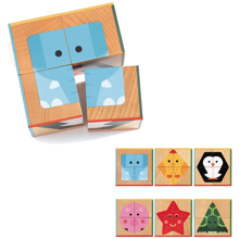 Djeco Wooden Blocks CubaBasic