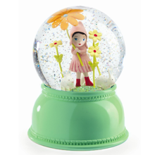 Djeco Snow Globe w. Light Flower Girl