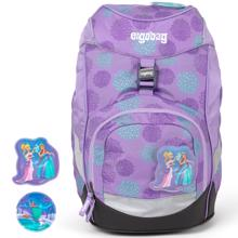 Ergobag Glow Prime School Bag SleighBear Purple Ice Flowers