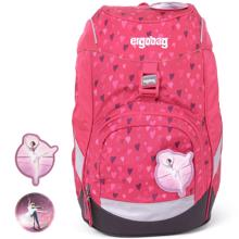 Ergobag Prime School Bag HorseshoeBear Pink Hearts