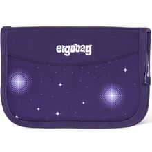 Ergobag Hard Pencil Case Glow Beargasus Purple Galaxy
