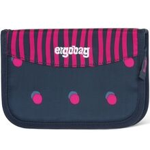 Ergobag Hard Pencil Case Shoobi DooBear Blue Purple Dots