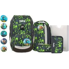 Ergobag Pack School Bag Set GlibbBear Slime