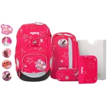 Ergobag Pack School Bag Set CinBearella Pink Stars
