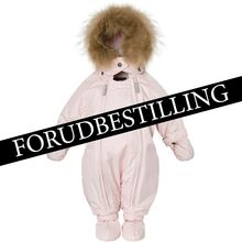 PREORDER Ver de Terre Baby Snowsuit w. Fur Rose Powder
