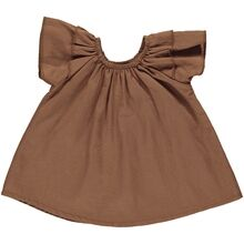 GRO Tobacco Baby Dress Louise