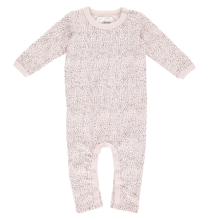 GRO Basic Dots Light Rose Grey Bodysuit