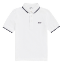 Hugo Boss Boy Short Sleeve Polo White