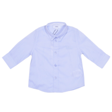 Hugo Boss Baby Long Sleeved Shirt Pale Blue