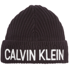 Calvin Klein Knitted Beanie Black Beauty