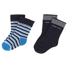 Hugo Boss Socks 2-pack Navy