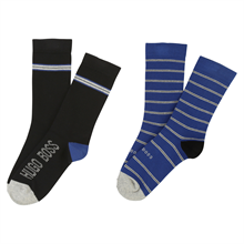 Hugo Boss Socks 2-pack Black/Blue
