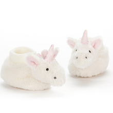 Jellycat Bashful Unicorn Home Shoes