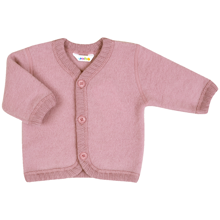 Joha Old Rose Wool Cardigan