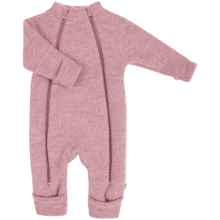 Joha Old Rose Wool Jumpsuit 2 in 1