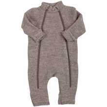 Joha Sesame Melange Wool Jumpsuit 2 in 1