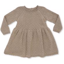 Konges Sløjd Ballerina Dress Brown Melange