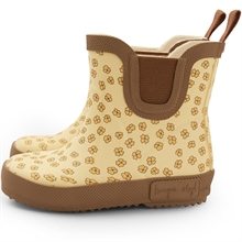Konges Sløjd Welly Rubber Boots Buttercup Yellow