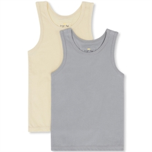 Konges Sløjd Lemon Sorbet/Quarry Blue 2-Pak Tank Top