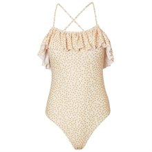 Konges Sløjd Mommy Buttercup Yellow Peony Swimsuit