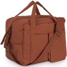 Konges Sløjd Quiltet Mommy Bag Choco Bean