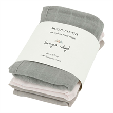 Konges Sløjd Wash Cloth 3 pk. Lime Stone