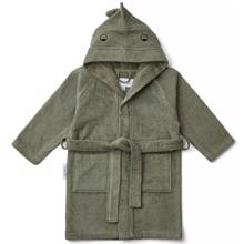 Liewood Lily Bathrobe Dino Faune Green
