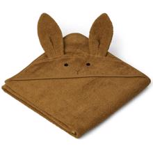 liewood-augusta-hooded-towel-rabbit-olive-green-girl-pige-boy-dreng-unisex