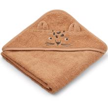 Liewood Albert Hooded Towel Leopard Apricot
