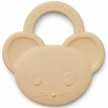 Liewood Gemma Teether Mouse Wheat Yellow