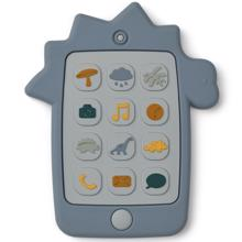 Liewood Teether Thomas Mobile Phone Dino Blue Wave
