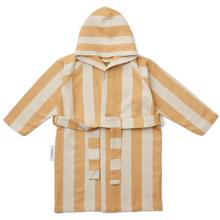 Liewood Dana Bathrobe Stripe Mustard/Sandy