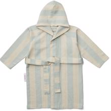 Liewood Dana Bathrobe Stripe Sea Blue/Sandy